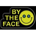 Parche Bordado BY THE FACE (Bordado:AMARILLO / Fondo:NEGRO)