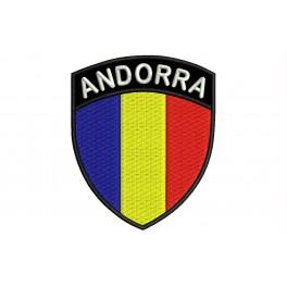 Parche Bordado Bandera ANDORRA (Escudo)