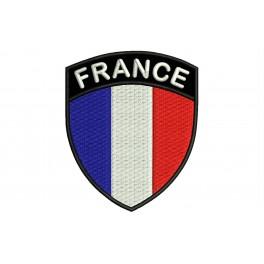 Parche Bordado Bandera FRANCIA (Escudo)