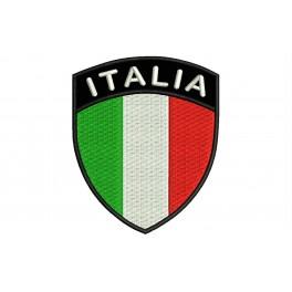Parche Bordado Bandera ITALIA (Escudo)