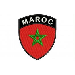 Parche Bordado Bandera MARRUECOS (Escudo)