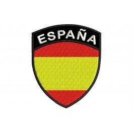 Parche Bordado Bandera ESPAÑA (Escudo)