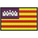 Parche Bordado Bandera BALEARES (con Velcro)