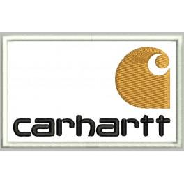 Parche Bordado CARHARTT (Fondo BLANCO)