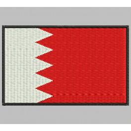 Parche Bordado Bandera BAHREIN