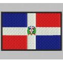 Parche Bordado Bandera DOMINICANA (REPUBLICA)