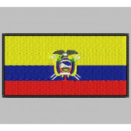 Parche Bordado Bandera ECUADOR