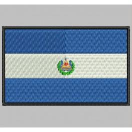 Parche Bordado Bandera EL SALVADOR