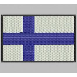 Parche Bordado Bandera FINLANDIA