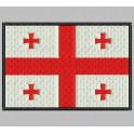 Parche Bordado Bandera GEORGIA