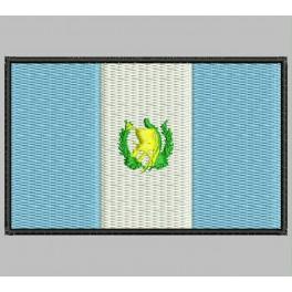 Parche Bordado Bandera GUATEMALA