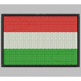 Parche Bordado Bandera HUNGRIA