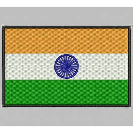 Parche Bordado Bandera INDIA