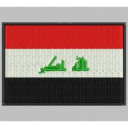 Parche Bordado Bandera IRAK