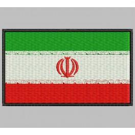 Parche Bordado Bandera IRAN