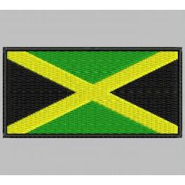 Parche Bordado Bandera JAMAICA