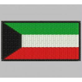 Parche Bordado Bandera KUWAIT