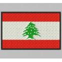 Parche Bordado Bandera LIBANO