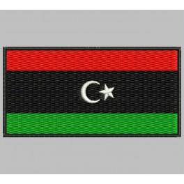 Parche Bordado Bandera LIBIA