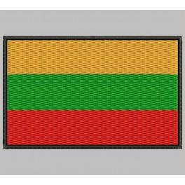 Parche Bordado Bandera LITUANIA