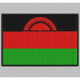 Parche Bordado Bandera MALAWI