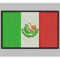 Parche Bordado Bandera MEXICO