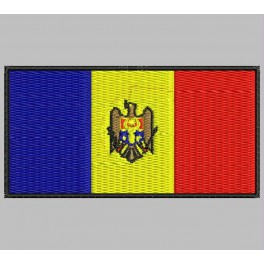 Parche Bordado Bandera MOLDAVIA