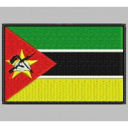 Parche Bordado Bandera MOZAMBIQUE