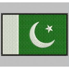 Parche Bordado Bandera PAKISTAN
