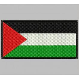 Parche Bordado Bandera PALESTINA