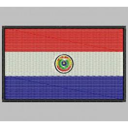 Parche Bordado Bandera PARAGUAY
