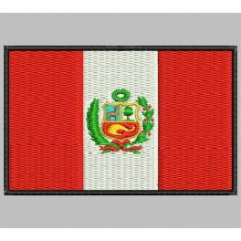 Parche Bordado Bandera PERU