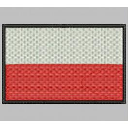 Parche Bordado Bandera POLONIA