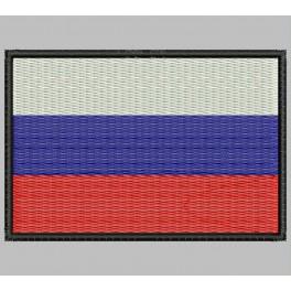 Parche Bordado Bandera RUSIA (FEDERACION)