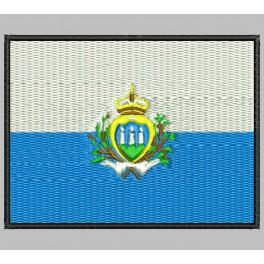 Parche Bordado Bandera SAN MARINO