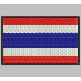 Parche Bordado Bandera TAILANDIA