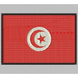 Parche Bordado Bandera TUNEZ