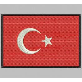 Parche Bordado Bandera TURQUIA