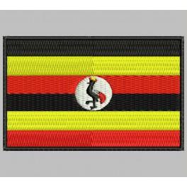 Parche Bordado Bandera UGANDA