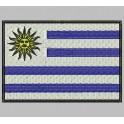 Parche Bordado Bandera URUGUAY