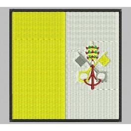 Parche Bordado Bandera VATICANO