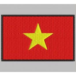 Parche Bordado Bandera VIETNAM