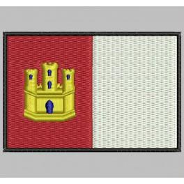 Parche Bordado Bandera CASTILLA LA MANCHA