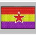 Parche Bordado Bandera REPUBLICANA (EJERCITO POPULAR)