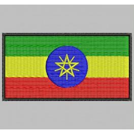 Parche Bordado Bandera ETIOPIA