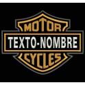 Parche Bordado HARLEY-DAVIDSON MOTOR CYCLES (Personalizado)
