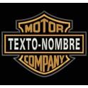 Parche Bordado HARLEY-DAVIDSON MOTOR COMPANY (Personalizado)