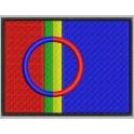 Parche Bordado Bandera LAPONIA (SAMI)