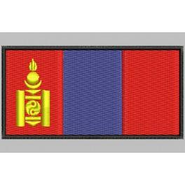Parche Bordado Bandera MONGOLIA