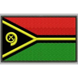 Parche Bordado Bandera VANUATU
